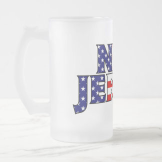 New Jersey Frosted Mug
