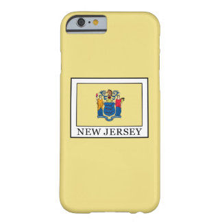 New Jersey Funda Barely There iPhone 6