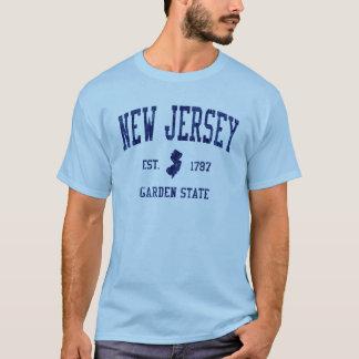 New jersey garden state 1787 tee shirt