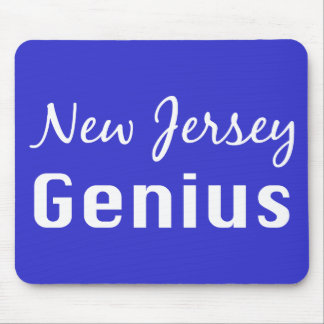 New Jersey Genius Gifts Mouse Pad