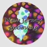 New Jersey Geocaching suministra a los pegatinas G