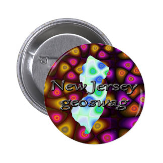 New Jersey Geoswag Swags Geocaching Gifts Treasure Button