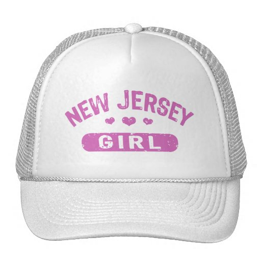 New Jersey Girl Trucker Hat
