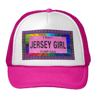 New Jersey Girls Gals Hat