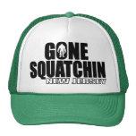 NEW JERSEY Gone Squatchin - Original Bobo Trucker Hat