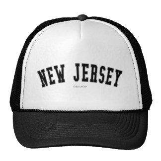 New Jersey Gorras De Camionero
