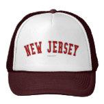 New Jersey Gorro De Camionero