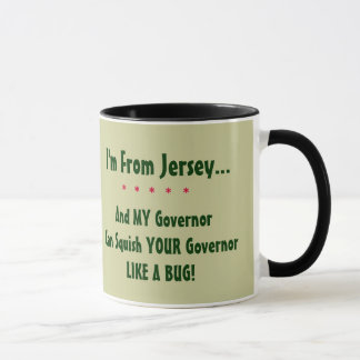 New Jersey Gov. Chris Christie Mug
