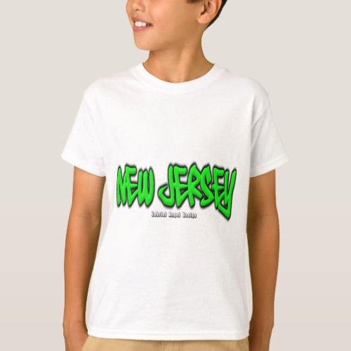 New Jersey Graffiti T_Shirt