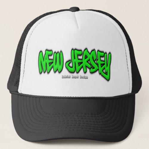New Jersey Graffiti Trucker Hat