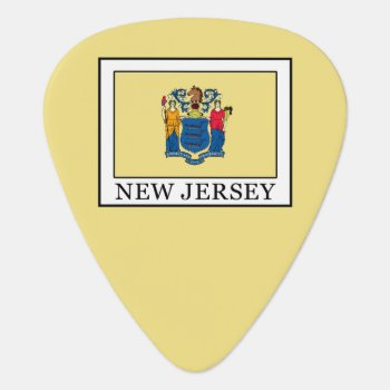New Jersey Guitar Pick by KellyMagovern at Zazzle