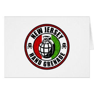 New Jersey Hand Grenade Card