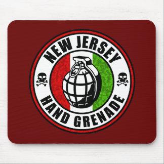 New Jersey Hand Grenade Mousepads