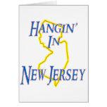New Jersey - Hangin Tarjetón