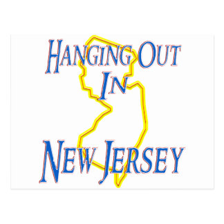 New Jersey - Hanging Out Postcard
