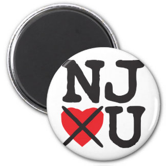 New Jersey Hates You Magnet