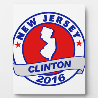 new jersey Hillary Clinton 2016.png Photo Plaque