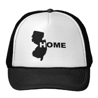 New Jersey Home Away From State Ball Cap Hat