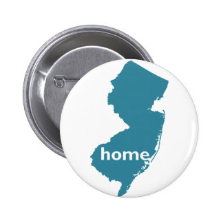New Jersey Home Pinback Button