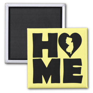 New Jersey Home Heart State Fridge Magnet
