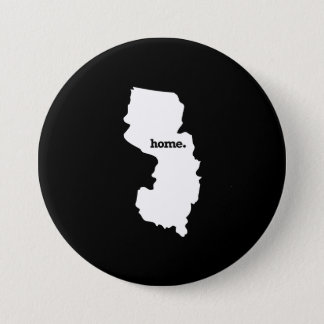 NEW JERSEY HOME STATE -.png Pinback Button