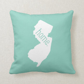 New Jersey Home State Throw Pillow