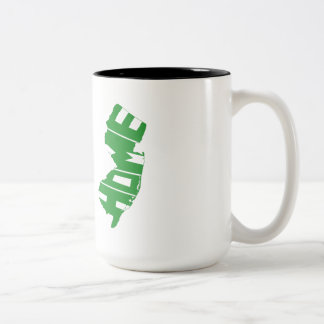 New Jersey Home State Two-Tone Coffee Mug
