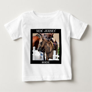 New Jersey Horse Baby T-Shirt