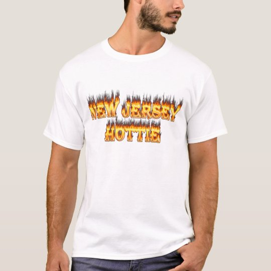 New Jersey hottie fire and flames T-Shirt