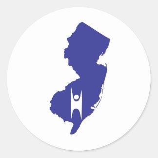 New Jersey Humanist Classic Round Sticker