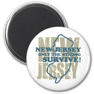 New Jersey Imán De Frigorífico