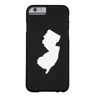 New Jersey in White and Black Barely There iPhone 6 Case