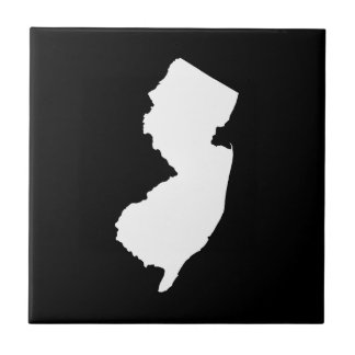 New Jersey in White and Black Tiles