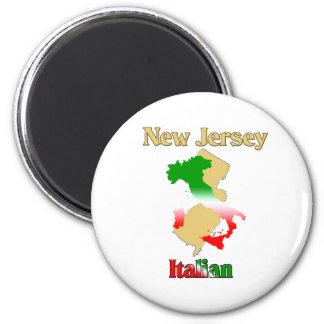 New Jersey Italian Magnet