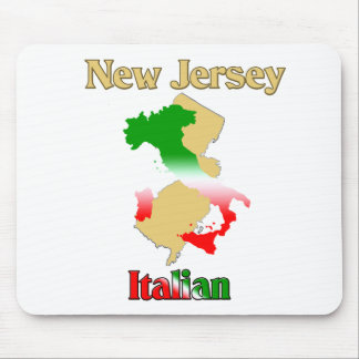 New Jersey Italian Mouse Pad
