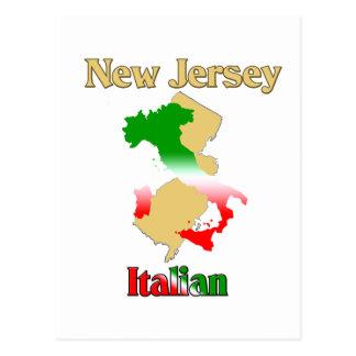 New Jersey Italian Postcard