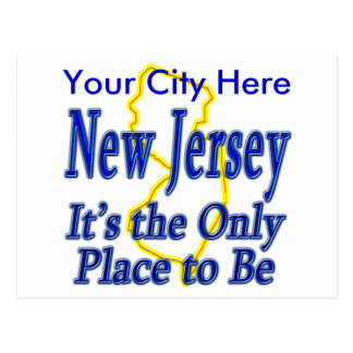 New Jersey  It's the Only Place to Be Post Cards