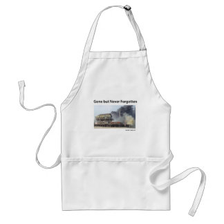 New Jersey - Jersey Shore - Gone But Never Forgot Adult Apron