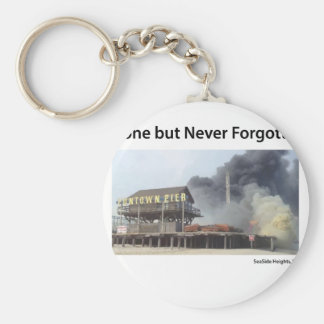 New Jersey - Jersey Shore - Gone But Never Forgot Key Chains