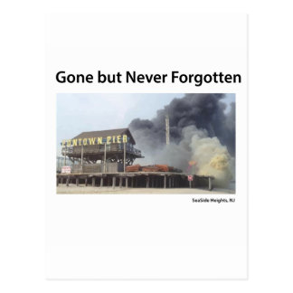 New Jersey - Jersey Shore - Gone But Never Forgot Postcard