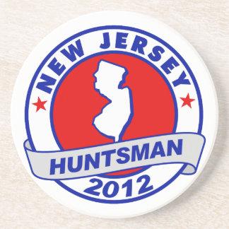 New Jersey Jon Huntsman Drink Coasters