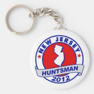 New Jersey Jon Huntsman Key Chain