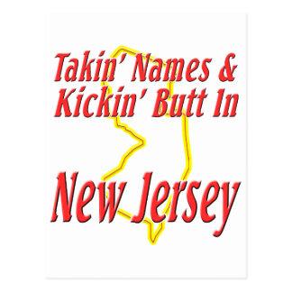 New Jersey - Kickin' Butt Postcard