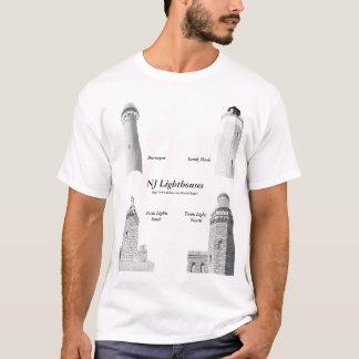 New Jersey Lighthouses Men's Shirt