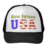 ¡New Jersey los E.E.U.U.! Gorro De Camionero