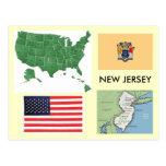New Jersey, los E.E.U.U. Postal