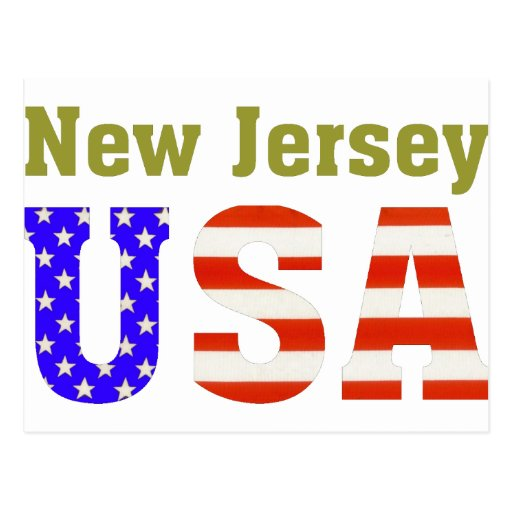¡New Jersey los E.E.U.U.! Postales