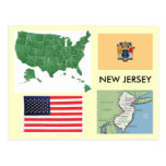 New Jersey, los E.E.U.U. Tarjetas Postales