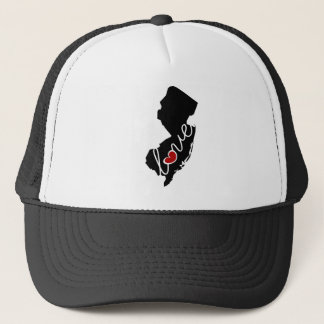 New Jersey Love!  Gifts for NJ Lovers Trucker Hat
