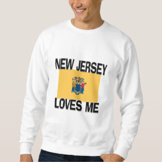 New Jersey Loves Me Pullover Sweatshirt